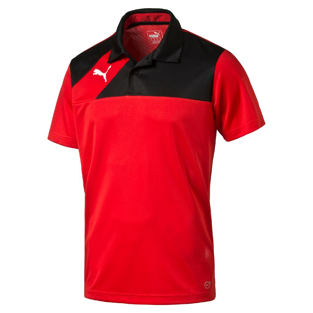 2018 Esquadra Leisure Polo - Puma Red- Black - Head Coaches / Senior Players