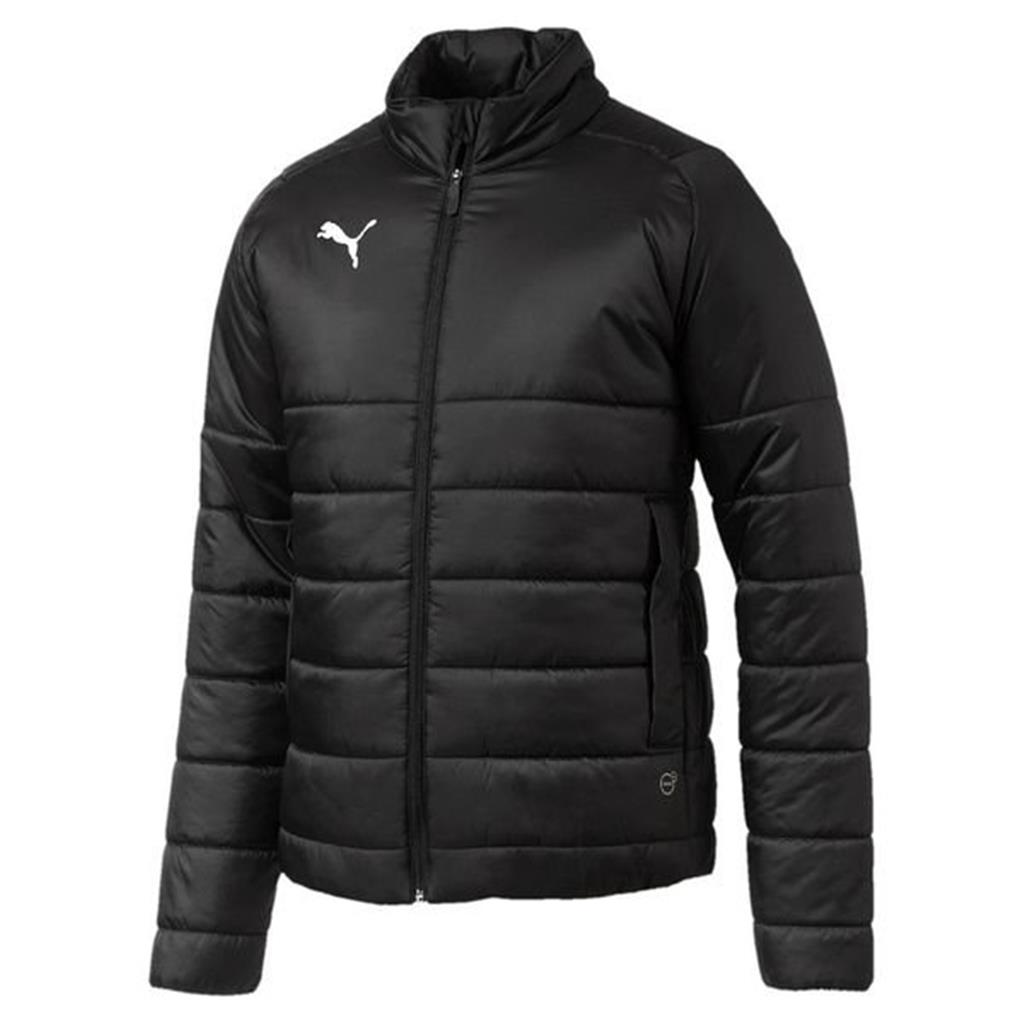 2018 Liga Padded Jacket - Black-White