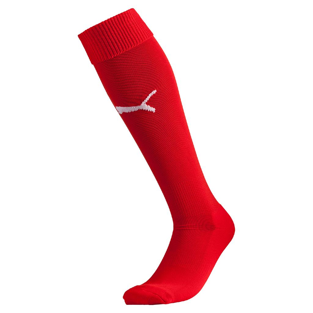2018 Liga Socks - Puma Red- White