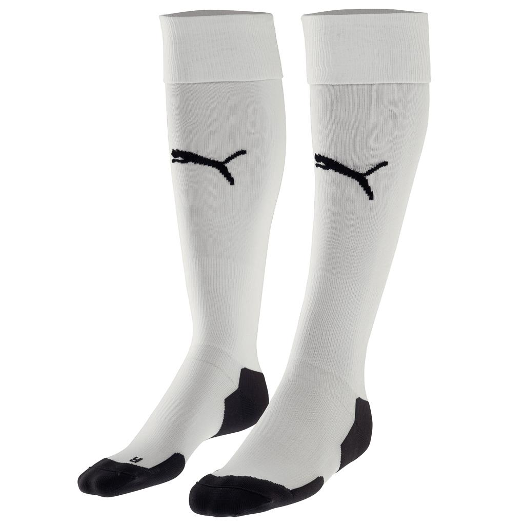 2018 Liga Socks - Puma White- Black
