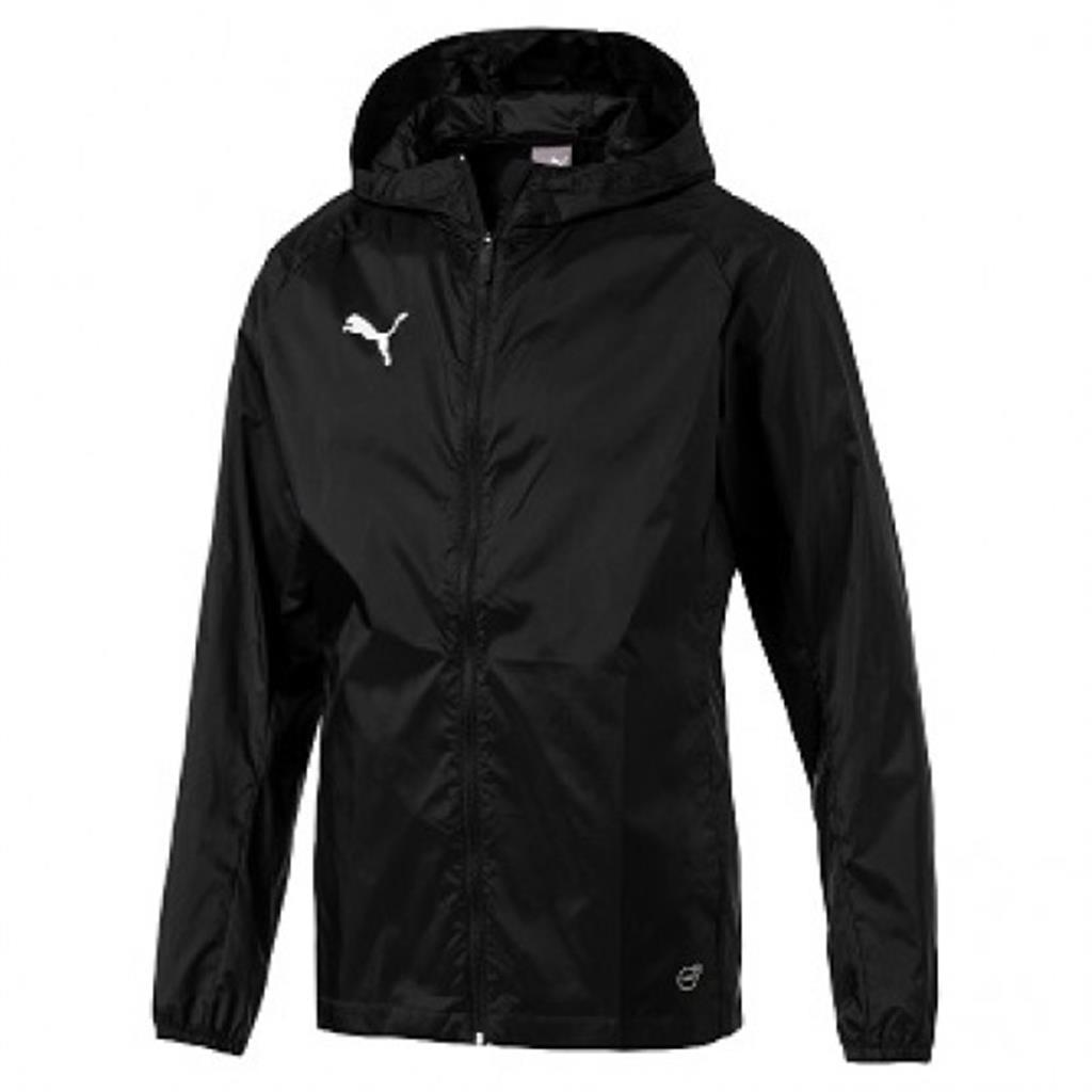 2018 Liga Rain Jacket - Black - White