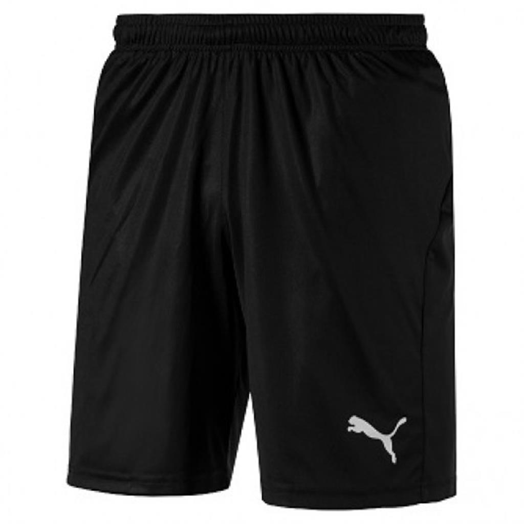 2018 Liga Shorts - Puma Black-White GK